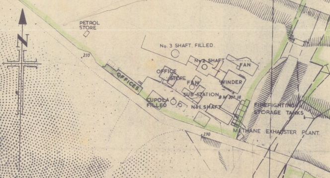 Barnsley Main Site Plan, September 1979.